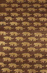 Gift Wrap - Screen Printed Gold Tigers - Gift Wrap - Anglesey Paper Company  - 2