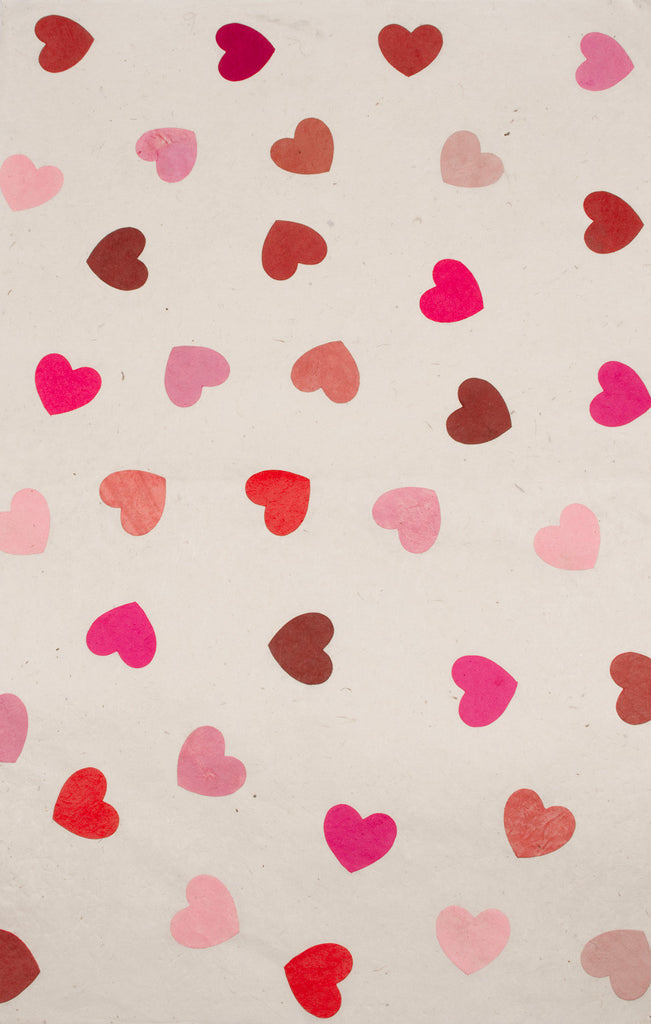 Gift Wrap - Pink Hearts - Gift Wrap - Anglesey Paper Company - 2