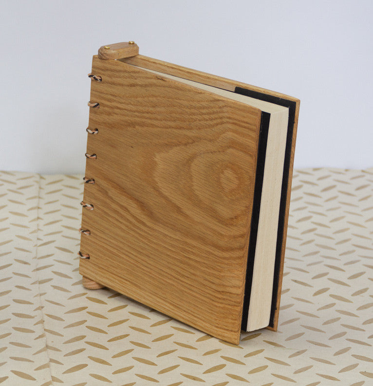 Wooden Journal - handmade at every stage!