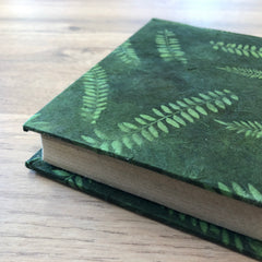 Hardcover Journal ~ Green Fern