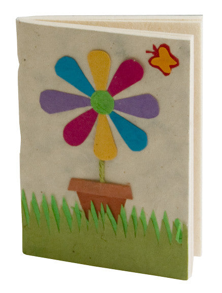 Soft Cover Notebook - Fun Flower - Notebooks - Anglesey Paper Company