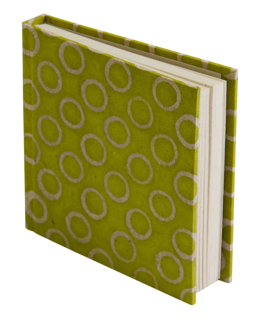 Notebook - Green Circles - Notebooks - Anglesey Paper Company