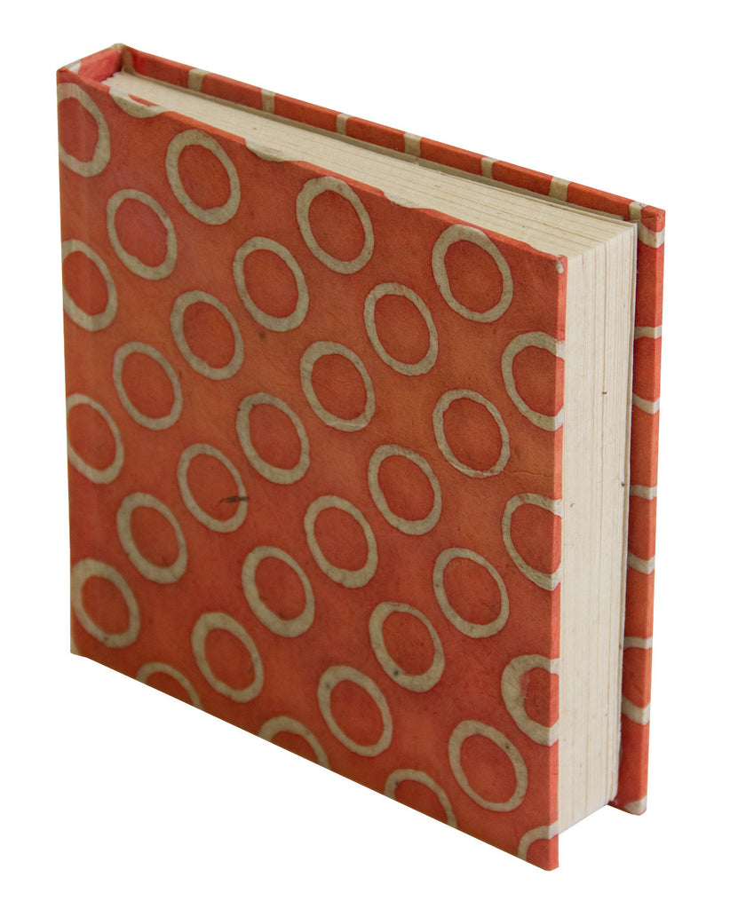 Notebook - Orange Circles - Notebooks - Anglesey Paper Company