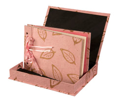 Boxed Photo Album - Batik Leaf - Photo Albums - Anglesey Paper Company  - 5