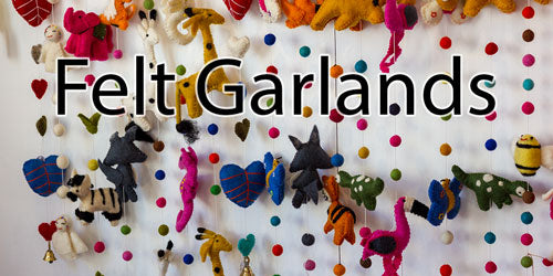 Handmade Felt Garlands