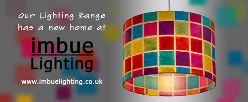 A New Home for Our Lighting Range ~ ImbueLighting.co.uk