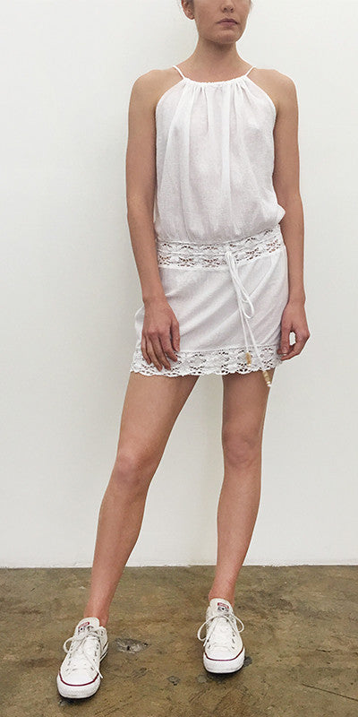 Short Hippie Dress Gauze