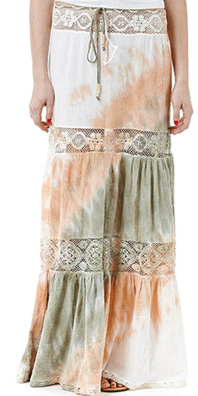 Hippie Skirt Long Gauze