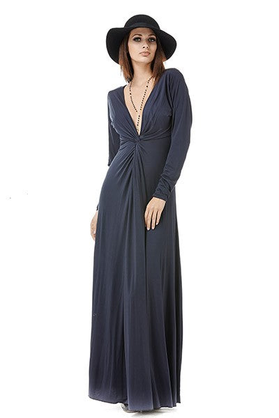 Edie Maxi Long Sleeve Dress