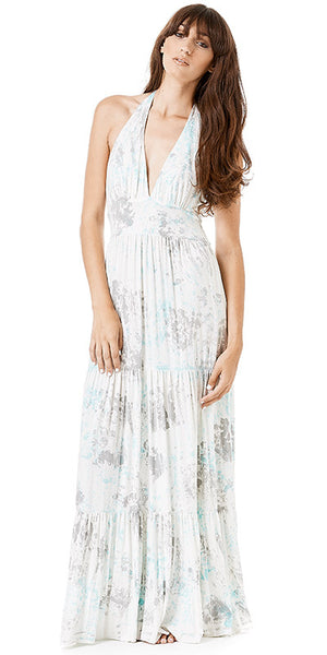 Michelle jonas tie dye maxi dress