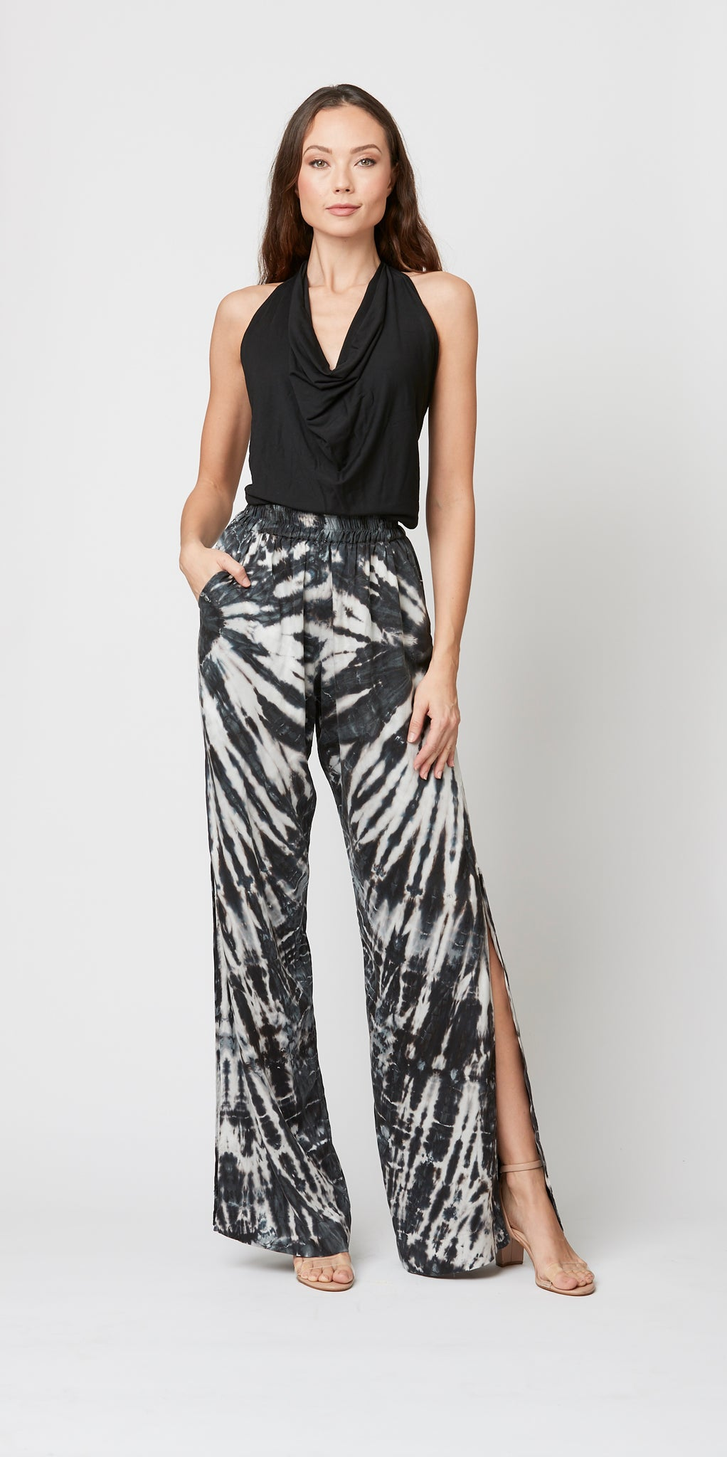 Palazzo Pant with Side lit