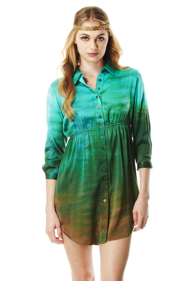 Shirt Dress Charmeuse