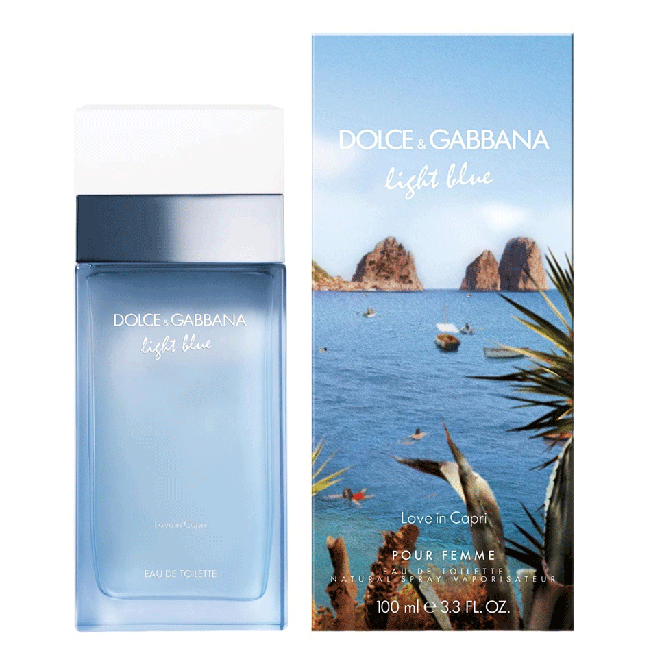 D&G Light Blue Love in Capri