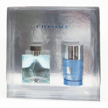 Azzaro Chome for Men gift set