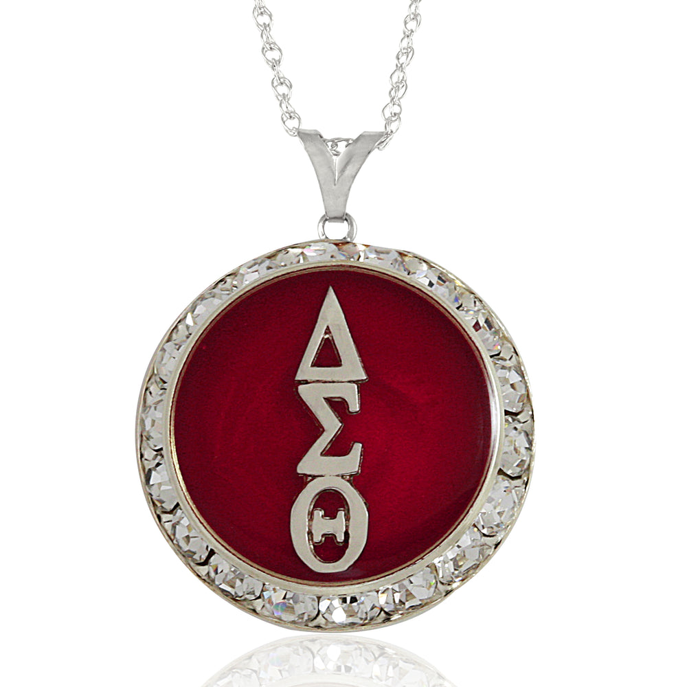 DST Swarovski® Enchanted Red Necklace