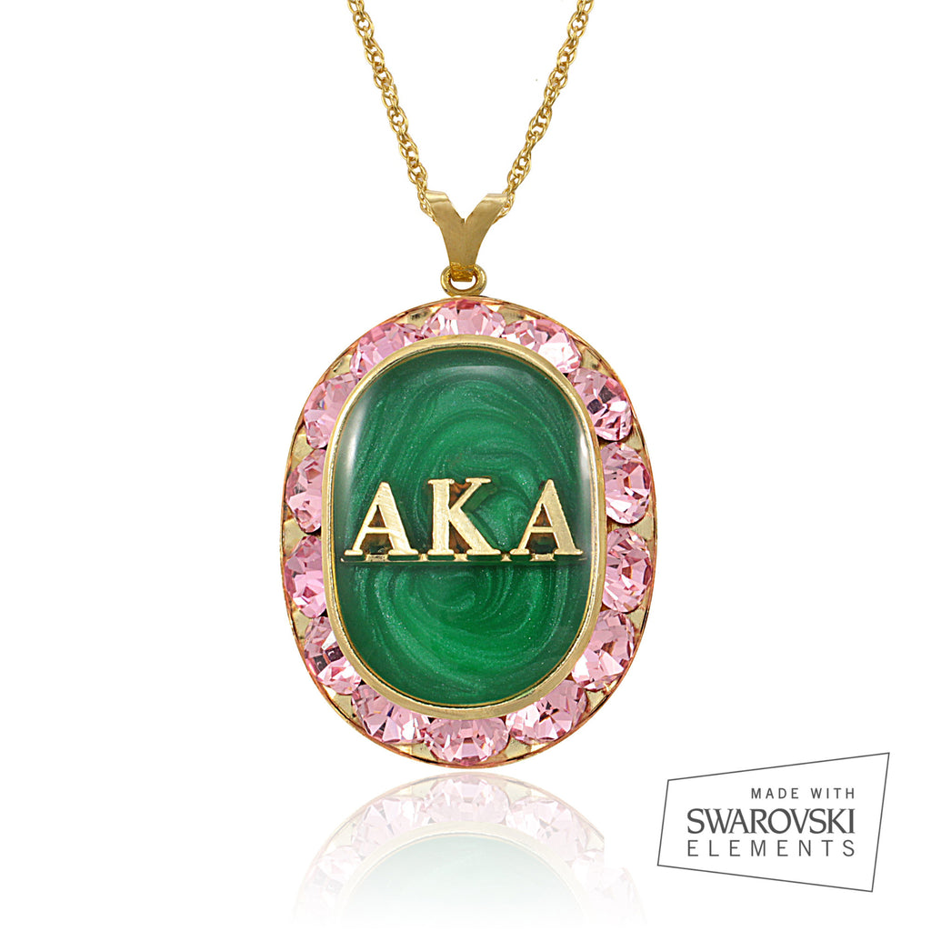 "AKA Swarovski® ""Extravagant""  Gold Necklace *Limited Edition*"