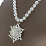 "DST Swarovski® ""Fantasia"" Silver Necklace"