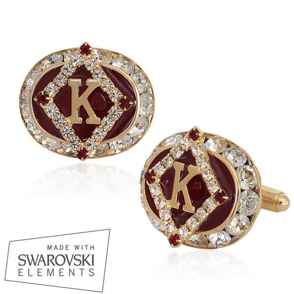 "Kappa Swarovski­®  ""Sovereign Grandeur"" Exclusive Cufflinks"