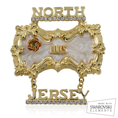 "Links, Inc. Swarovski® Custom Chapter ""Ethereal A2""  Pin"