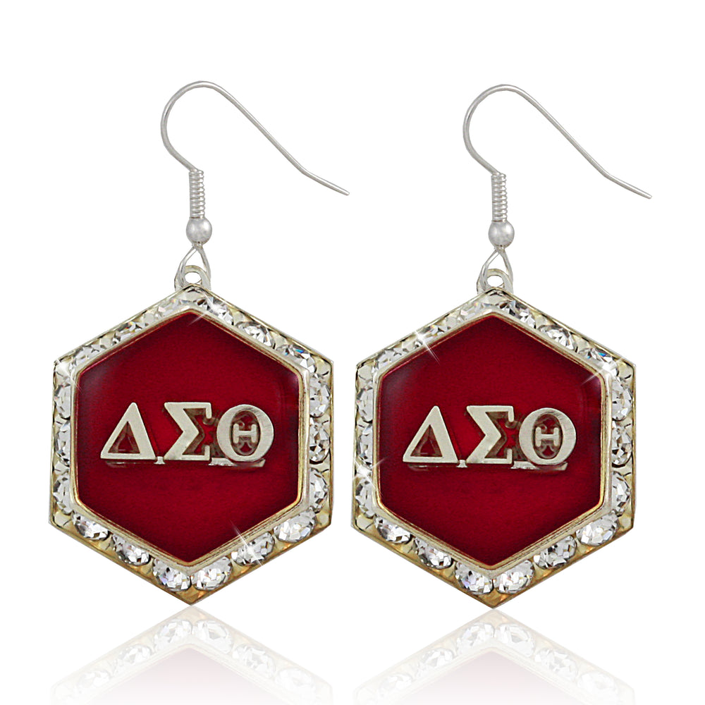 "DST Swarovski® ""Starbella"" Red Earrings"