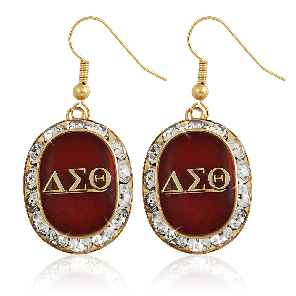 "DST Swarovski® ""Opulent"" Red Earrings"