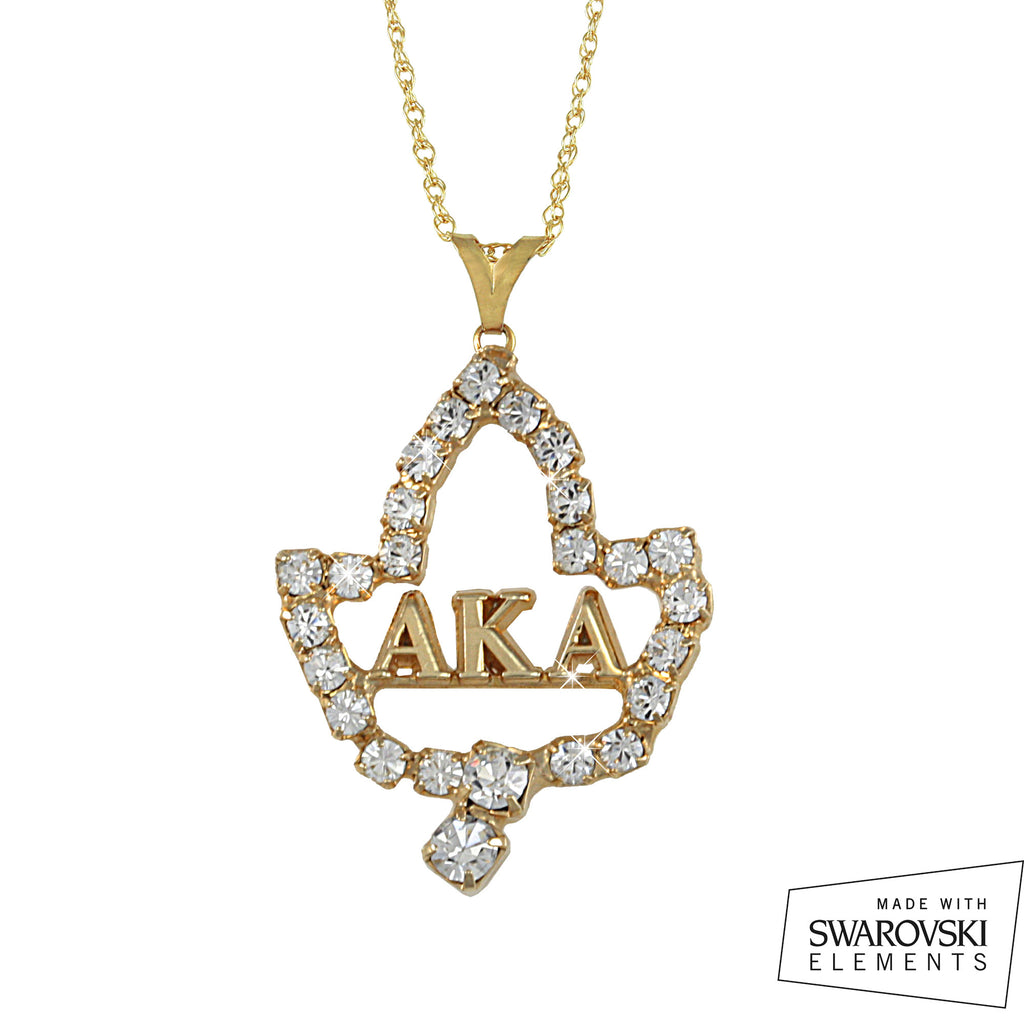 Aka swarovski ivy leaf letters necklace arvensis crystal jewelry aka swarovski ivy leaf letters necklace mozeypictures Image collections