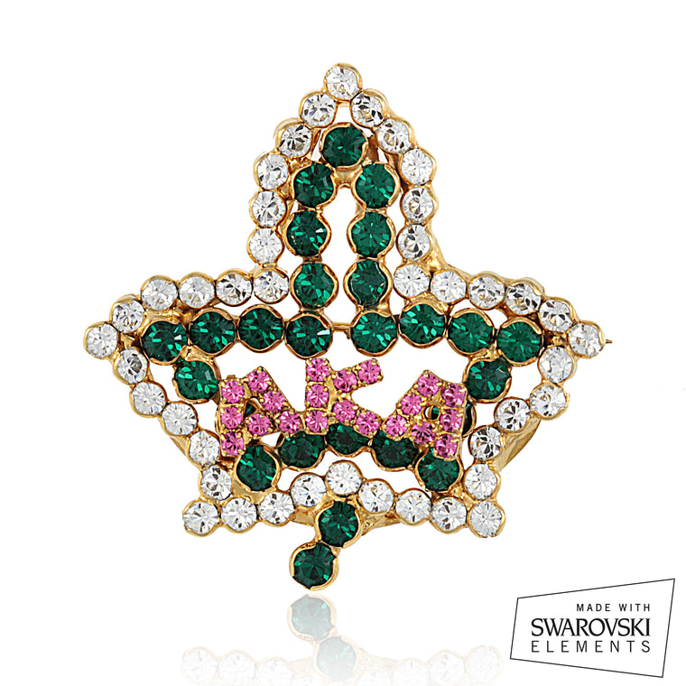 AKA Swarovski® Bold and Beautiful Pin