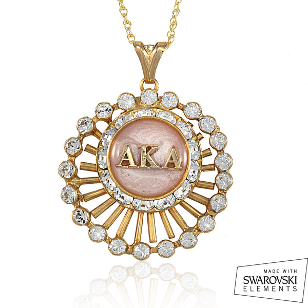"AKA Swarovski® ""Crystalline Perfection"" Gold Necklace"