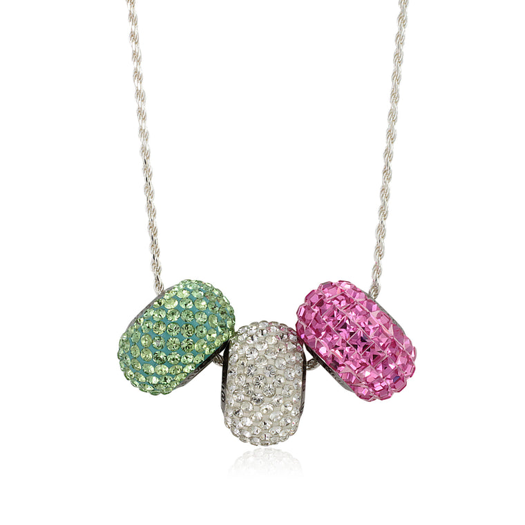 Swarovski®  Legacy Beads Necklace w/ 18