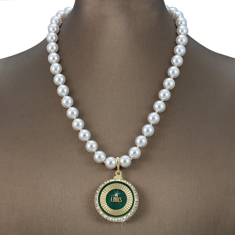 "Links Swarovski® Grande ""Sumptuous"" Necklace with Pearls"