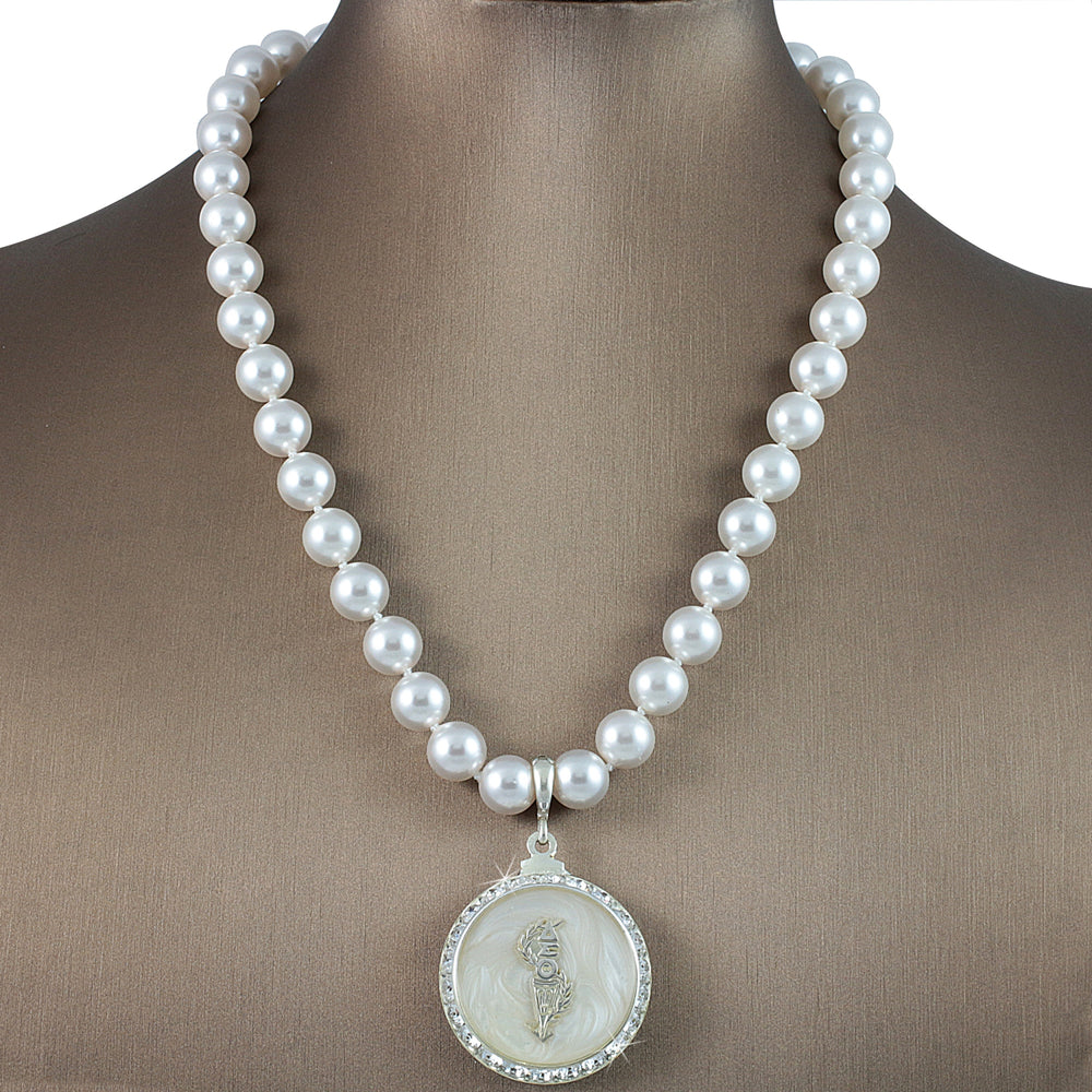 "DST Swarovski® ""Night Out"" Grande Necklace with Pearls"