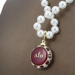 "DST Swarovski® ""Jeweled"" Grande  Necklace with Pearls"