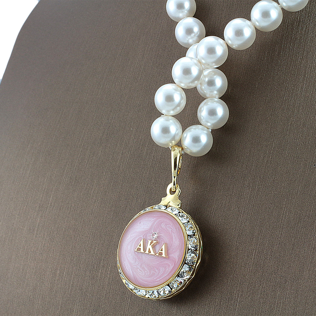 alpha kappa alpha jewelry alpha kappa alpha swarovski 174 infinity quot prive quot gold 1383