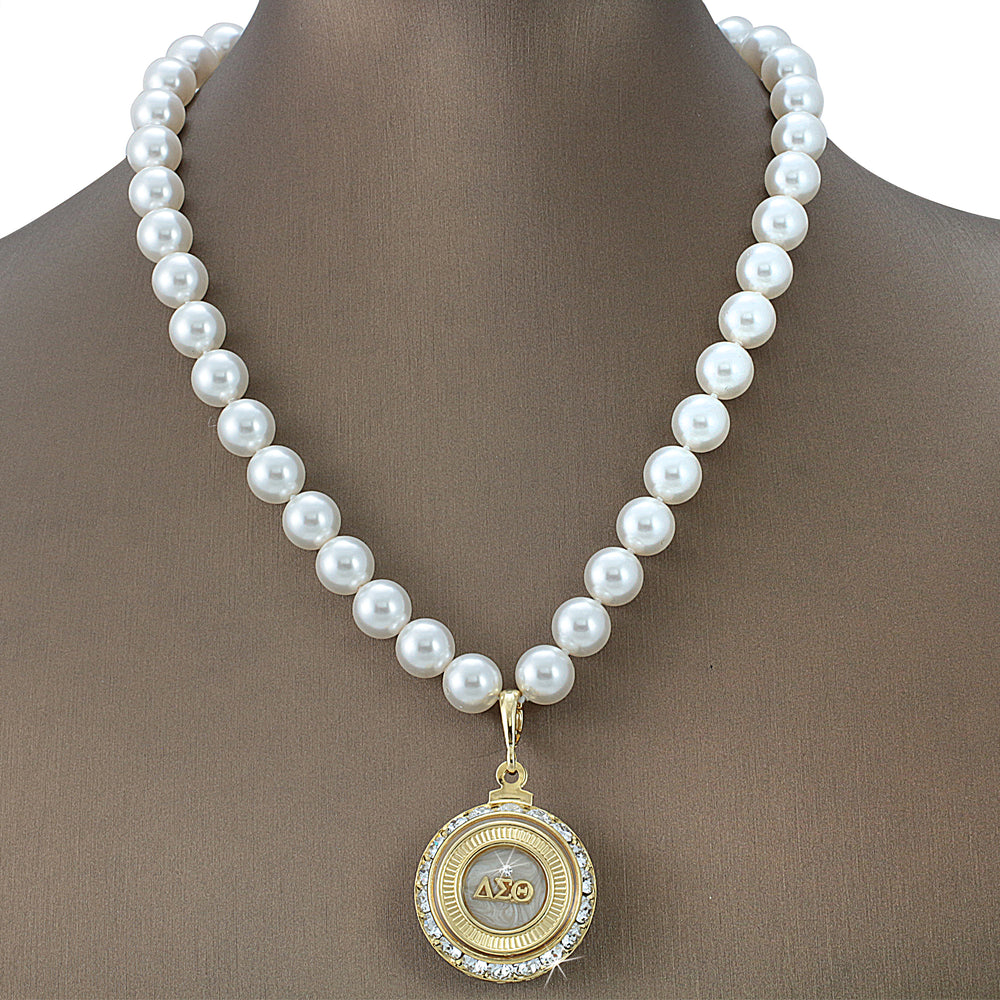 "DST Swarovski® ""Regal "" Grande Necklace with Pearls"
