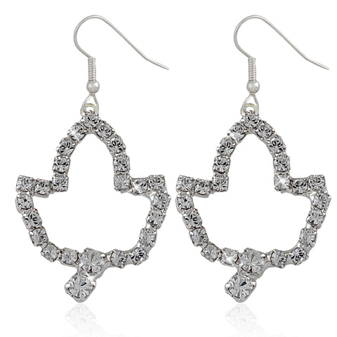 AKA Swarovski® Ivy Leaf Earrings