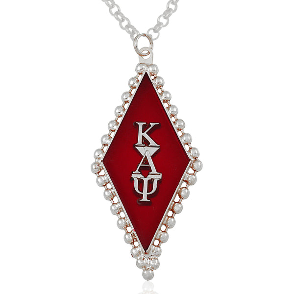 Kappa Swarovski® 'Classic' Red and Silver Medallion