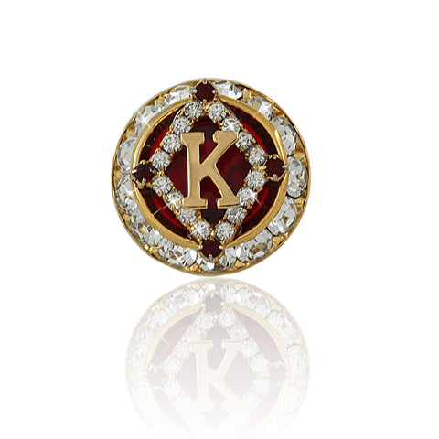 "Kappa Swarovski® ""The One"" Lapel Pin"