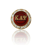 "Kappa Swarovski® ""Crystallized""  Small Lapel Pin"