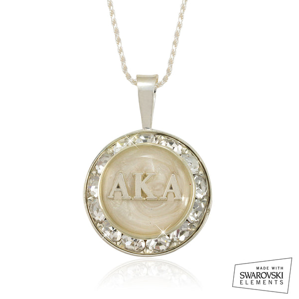 "AKA Swarovski® ""White Stellar"" Necklace"