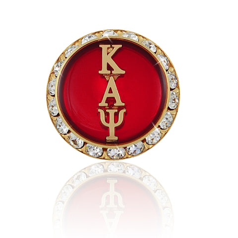 "Kappa Swarovski® ""Crystallized"" Button Cover"