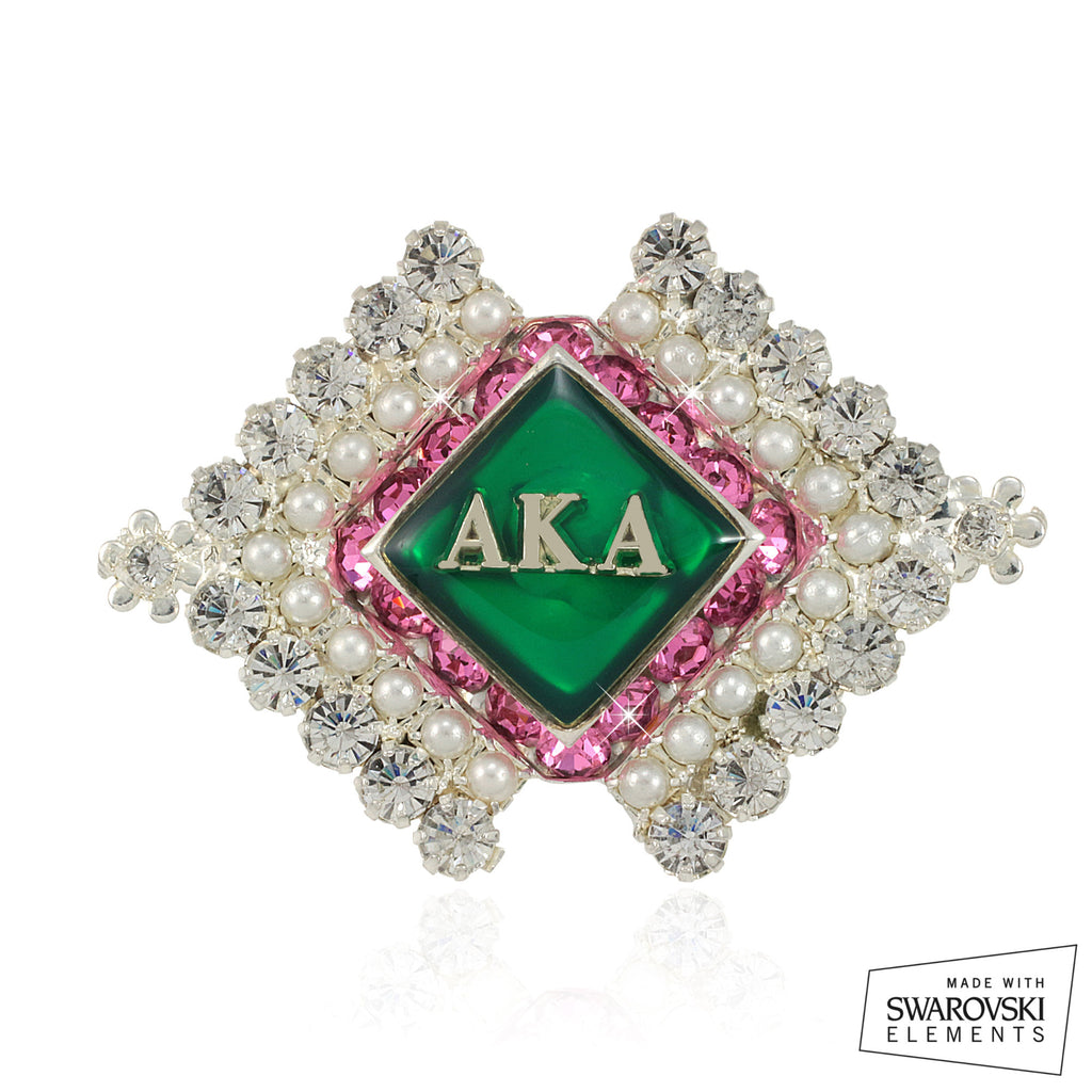 "AKA Swarovski® ""20 Pearls Perfection"" Pin"