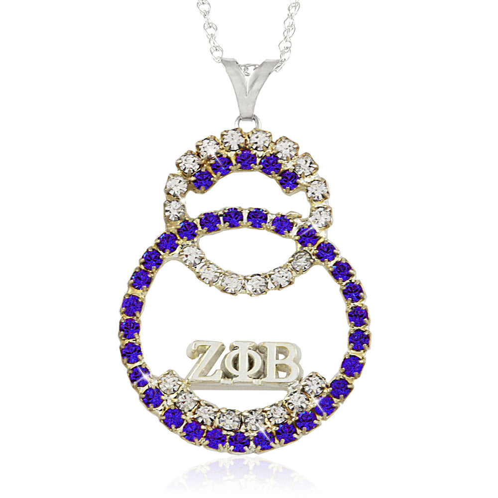 Zeta Crystal Unity Necklace