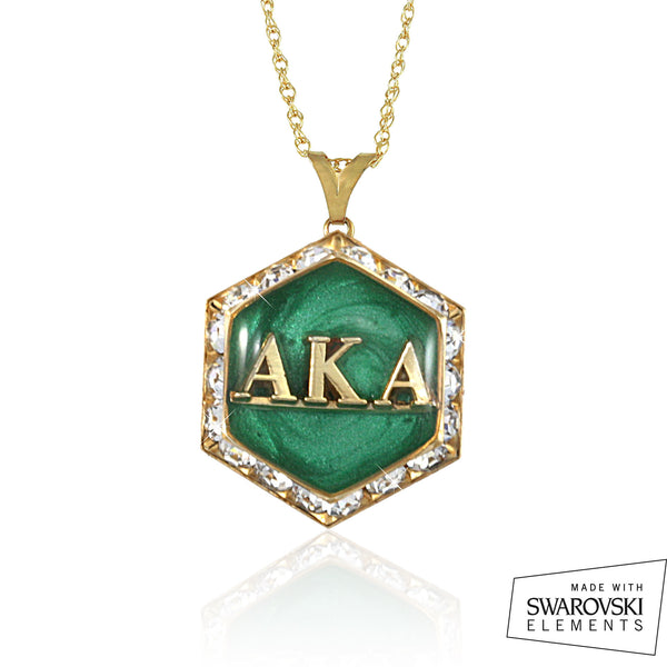 AKA Swarovski® Emerald Starbella Necklace