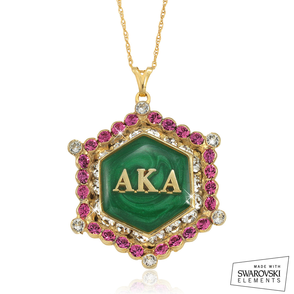 "AKA Swarovski® Emerald ""Lake"" Marbella Necklace *Limited Edition*"