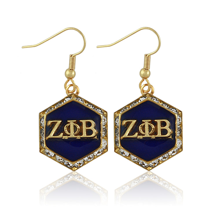 Zeta Starbella Crystal Earrings