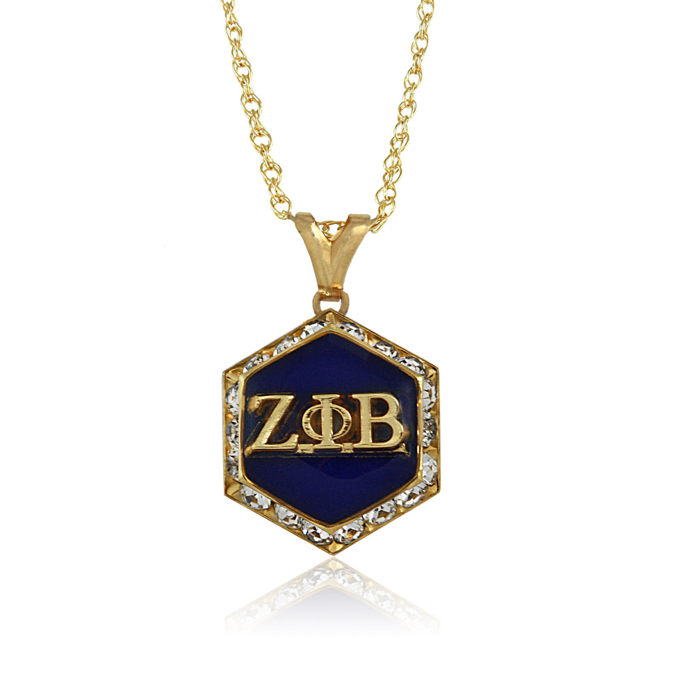 Zeta Gold Starbella Crystal Necklace