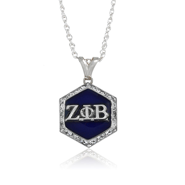 Zeta Silver Starbella Crystal Necklace
