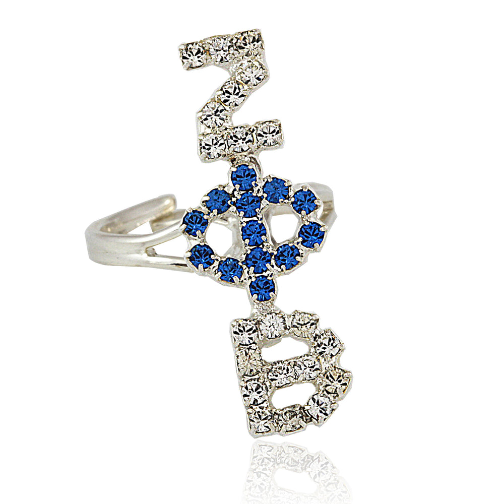 Zeta Crystal Symbols Ring
