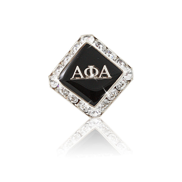 "Alpha Phi Alpha Swarovski® Commemorative ""Regal"" Lapel Pin"