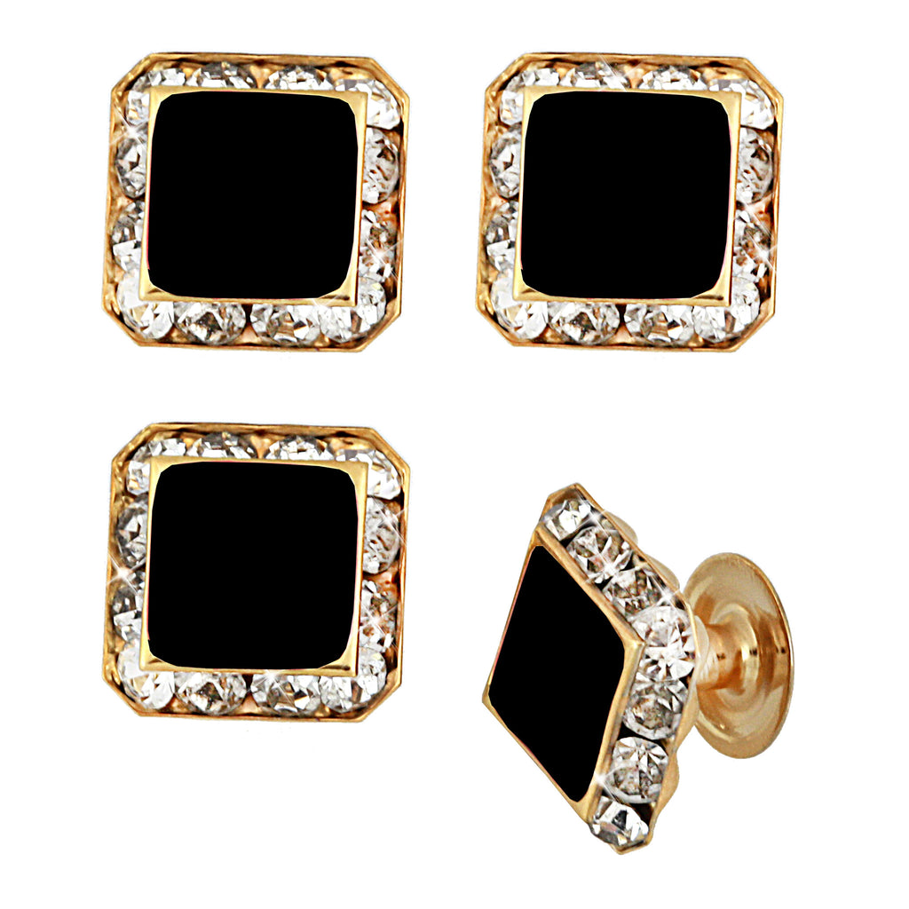 "Alpha Phi Alpha Swarovski® Commemorative ""Regal"" Stud Set"